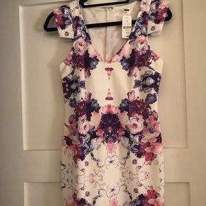 LF Floral Dress NWT